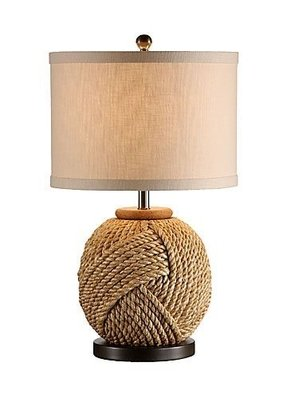 Rope lamp base 7