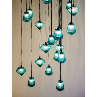 Aqua Pendant Lamp Ideas On Foter