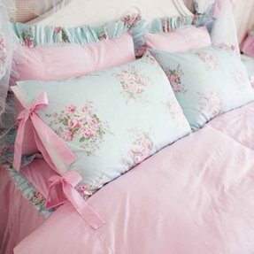 Shabby chic bedding 2