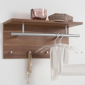 Shelf coat rack