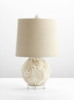 Seashell table lamp foter this is exactly the lamp i was dreaming about french mum seashell table lamp with beautiful seashell white finish looks super adorable i love this soft aloadofball Images