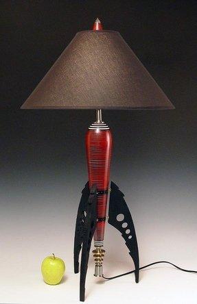 Rocket Lamp Foter