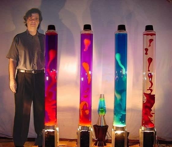 What Is In A Lava Lamp Gorgeous Tall Lava Lamp Foter