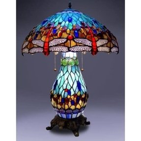 Tiffany dragonfly table lamp 1
