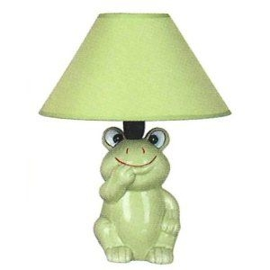 Lovely Tiffany Frog Lamp 18
