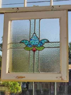 Tiffany stained glass window panels 1