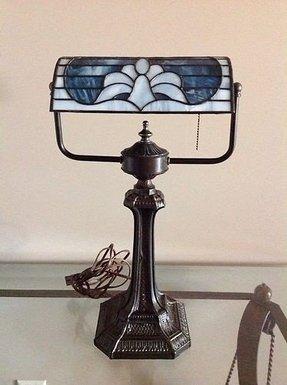 Vintage Art Deco Torchiere Floor Lamp