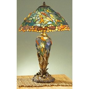 adjustable in desk glass medici shop lamp style bronze arm led pd tiffany pueblo quoizel shade with swing table