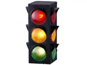 Traffic light lamp novelty party room decoration new free shipping