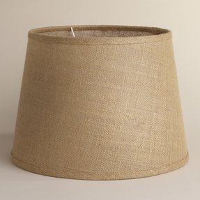 Uno lamp shades foter stylish and classy this lamp shade is characterized by a natural burlap design creating cozy atmosphere and spreading its warm light through an entire aloadofball Choice Image
