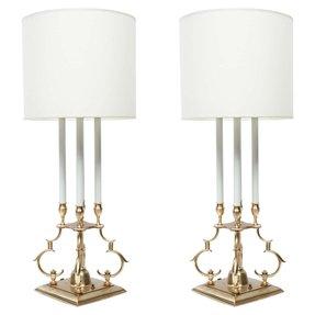 Antique stiffel lamps foter vintage stiffel brass table lamps aloadofball Gallery