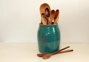 vintage-turquoise-teal-blue-stoneware-crock-utensil-holder Ideas For Turquoise And Wine Red Kitchen on turquoise and red chairs, turquoise and red color, turquoise and red outdoor furniture, turquoise and red and green kitchens, turquoise and red christmas, turquoise and red design, turquoise and red curtains, turquoise and red fashion, turquoise and red art, turquoise and red garden, turquoise and red doors, turquoise and red accessories, turquoise and red dinner,