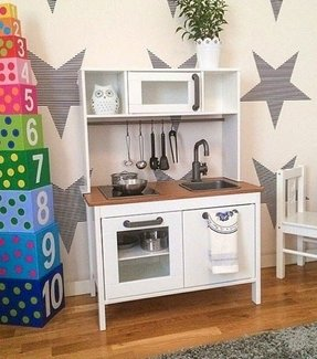 wooden play kitchens 4 - Play Kitchen