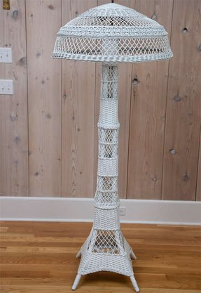 Wicker Floor Lamp Foter
