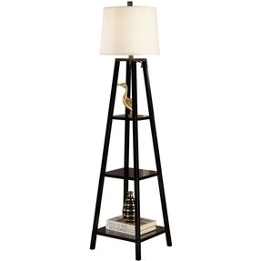 Artiva usa elliot 63 inch wood display floor lamp