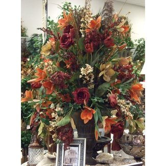 Big floral arrangements