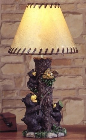 Black bear lamp 4