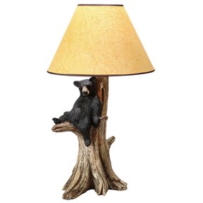 Black bear lamps