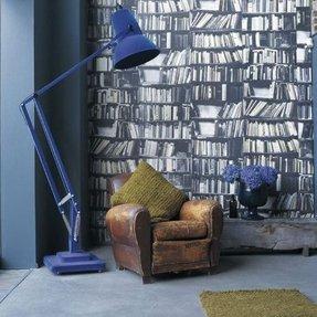 Blue Floor Lamp Foter