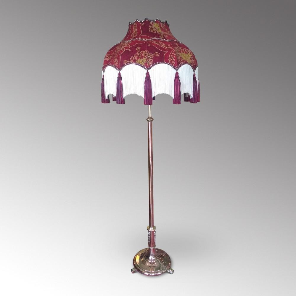 Burgundy Lamp Shades 16