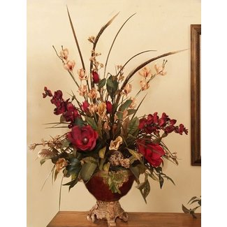 Church floral arrangements
