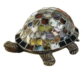 Dale tiffany turtle accent lamp