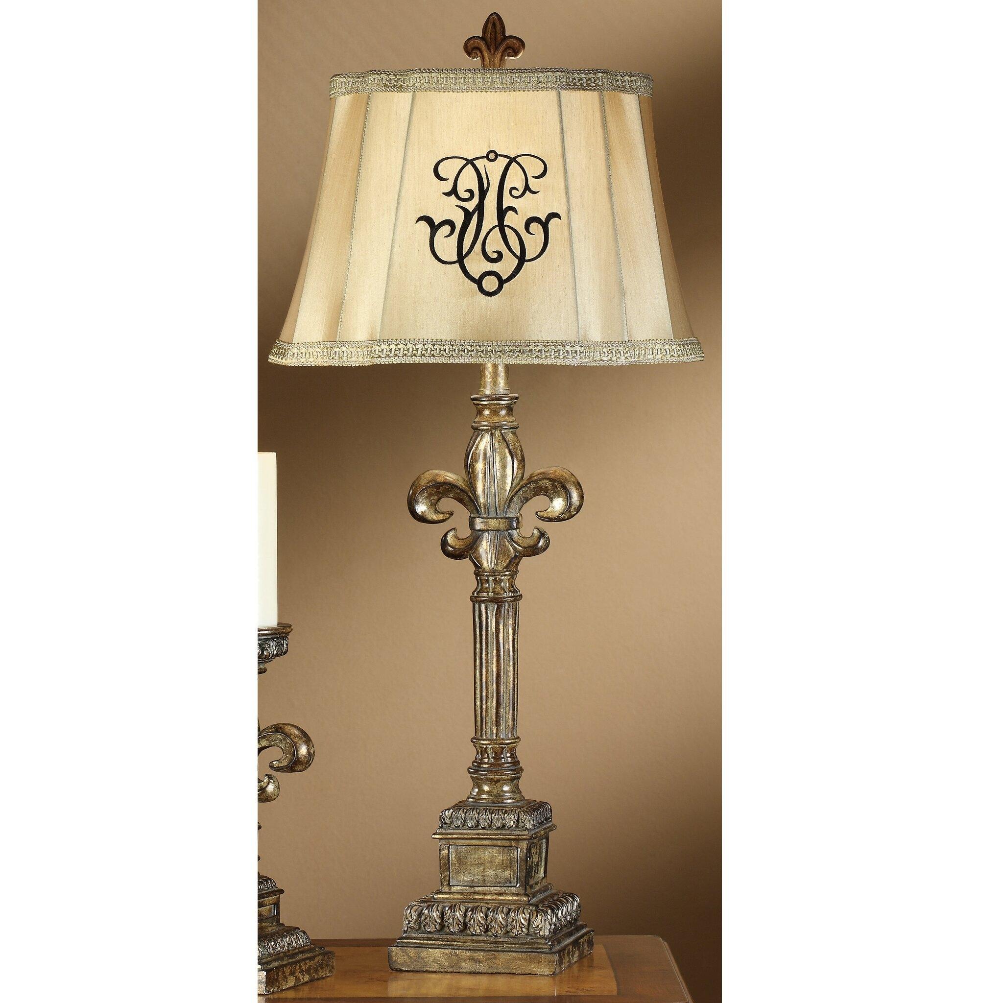 Exceptional Fleur De Lis Lamp