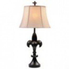 Fleur De Lis Table Lamp 2