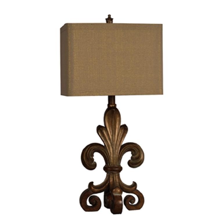 Fleur De Lis Table Lamp 8