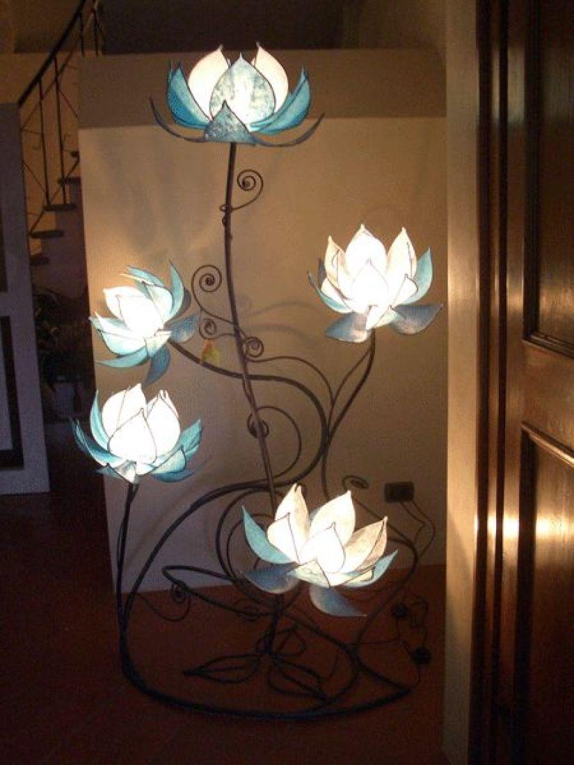 Floor Flower Lamp