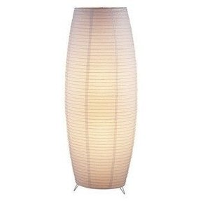 Rice paper floor lamp foter floor lamp with paper shade aloadofball Image collections