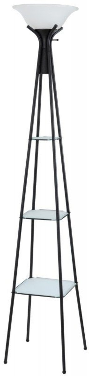 Floor lamp with shelves 35