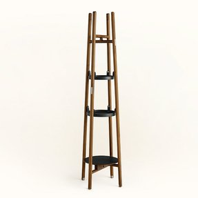 Floor lamp with shelves 6