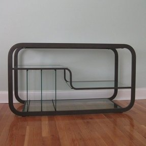 Glass and metal tv stands 14