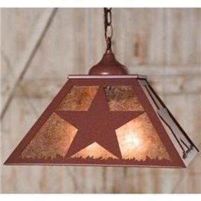 Texas star lamp foter glass star light shade aloadofball Choice Image