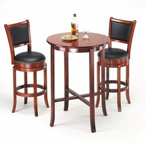 High top pub table and chairs 1