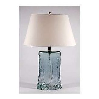 Hollow glass lamp