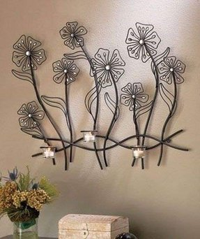 Iron candle sconces 18
