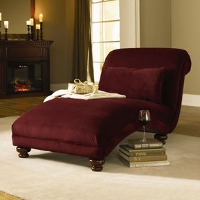 Klaussner furniture reststop fabric chaise lounge 3
