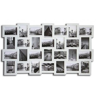 Large photo frame wood photo frame white photo frame multi