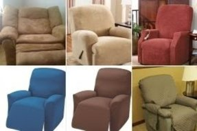 Large recliner slipcover