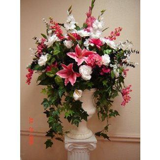 Large silk floral arrangements 1