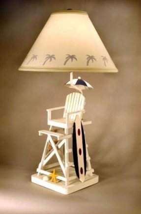 Lifeguard chair lamp 3