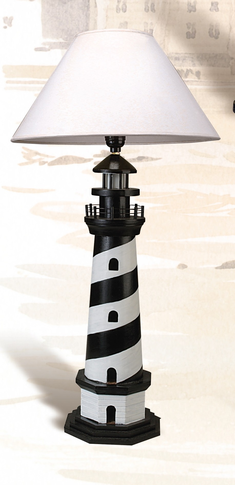 Charming Lighthouse Table Lamp 4