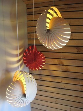 Nautilus shell lamp 13