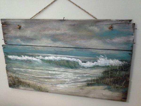 Original Ocean Beach Seascape Painting