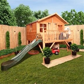 Outdoor playhouse kit 10
