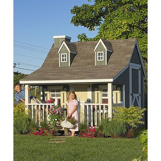 Outdoor playhouse kit 3