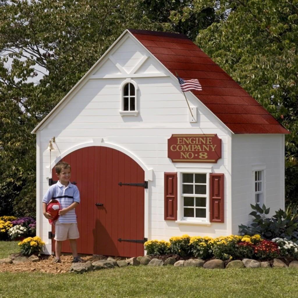 Outdoor Playhouse Kit 4