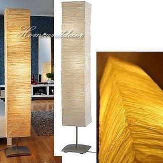 Rice Paper Floor Lamp Foter